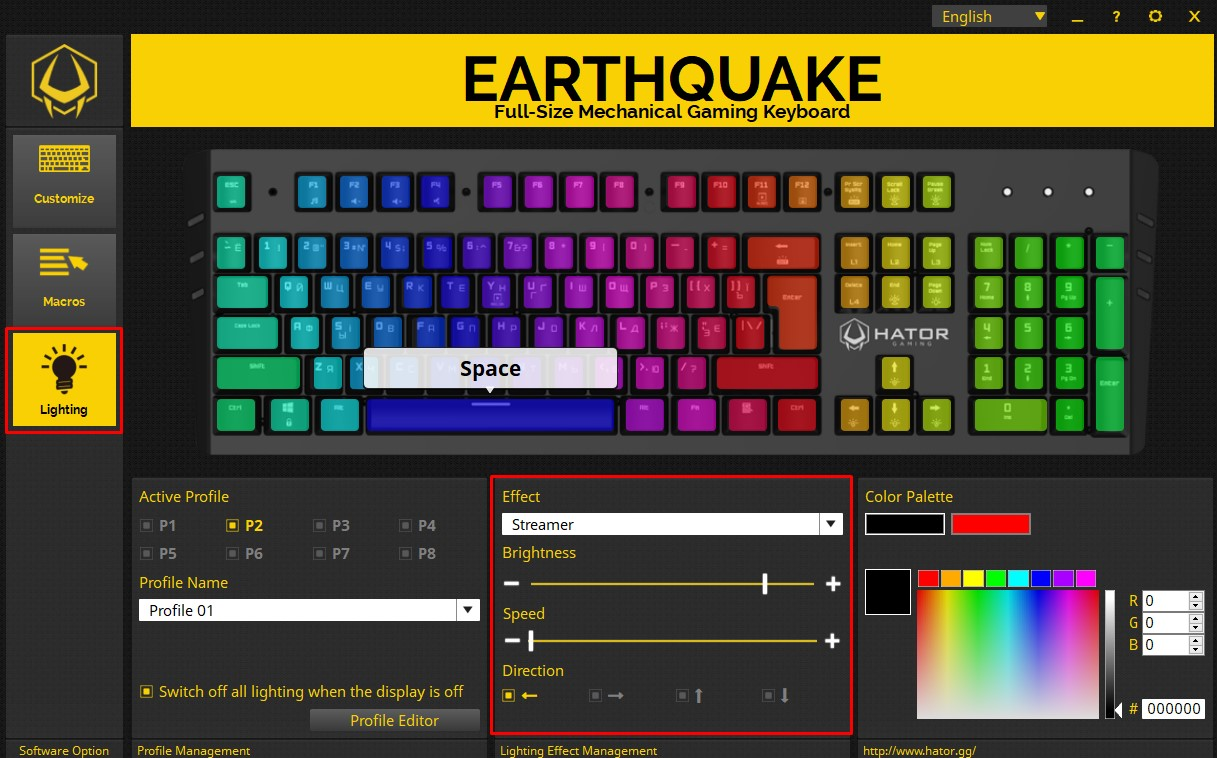 How to customize your keyboard in Hator Gaming Software  - Hator