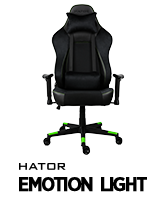 Hator Emotion Light game chair
