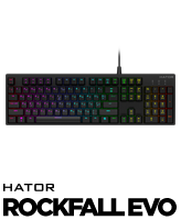 Hator Rockfall EVO gaming keyboard