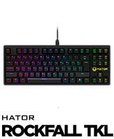 Hator Rockfall TKL gaming keyboard